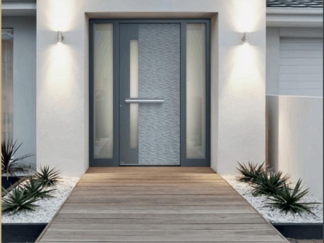 modern door entrance