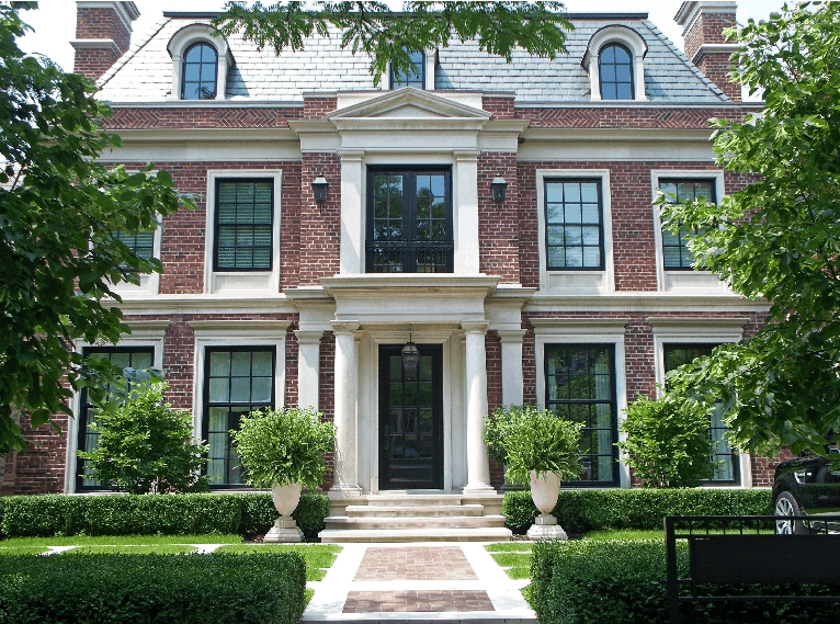 synergy classic black windows and doors