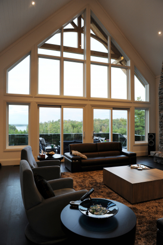 interior shaped windows and doors