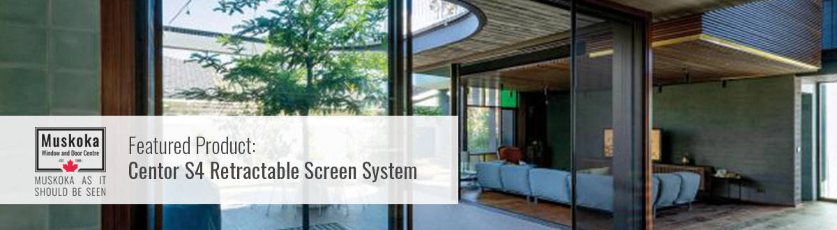 Centor S4 Retractable Screen System.